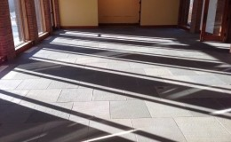 Montpelier interior bluestone entry