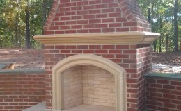 brick chimney outdoor