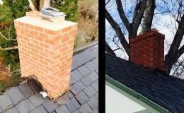 brick chimney repair