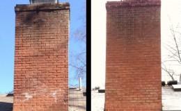 chimney repair brick