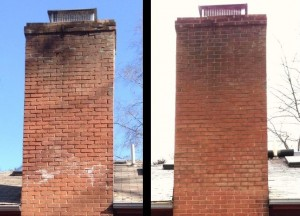 chimney repair brick