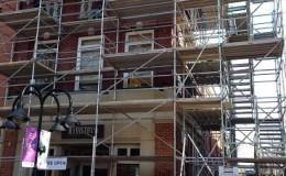 commercial exterior brick repair