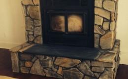 Stone Fireplace Surround