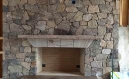 Large Stone Chimney