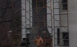 brick chimney exterior repair