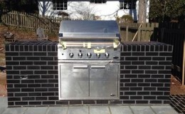 brick grill countertop