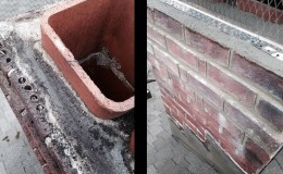 chimney crown repair