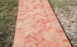 Herringbone Sidewalk